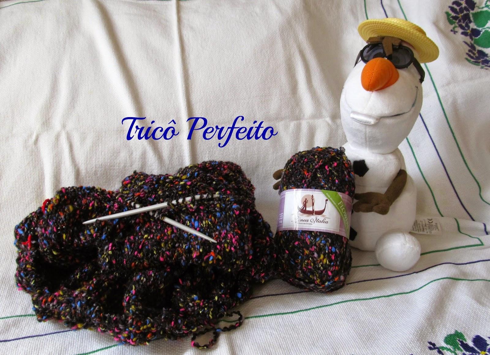 Gola em tricô blog Tricô Perfeito