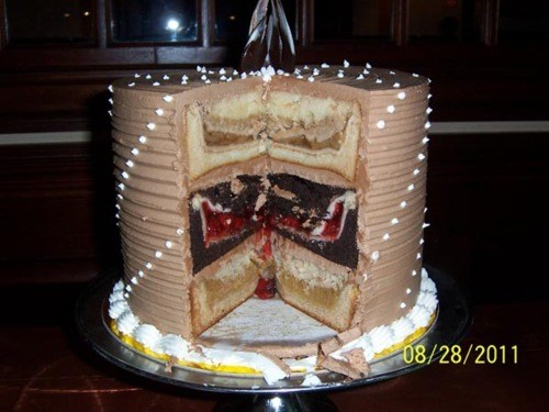 ... cake) — as interpreted by professional pastry chef David Lowery