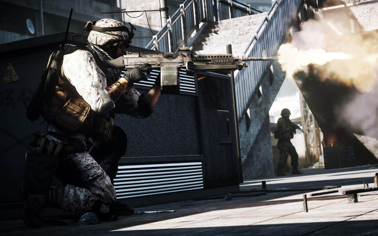 Battlefield 3 Game Desktop Wallpapers Hd Car Wallpapers