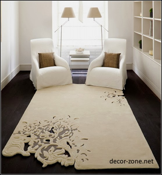 modern living room rugs ideas, white rugs