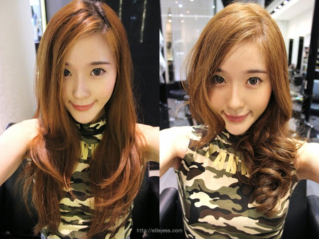 Elle And Jess Olive Brown Hair At Salon Vim Jess New Hair Color