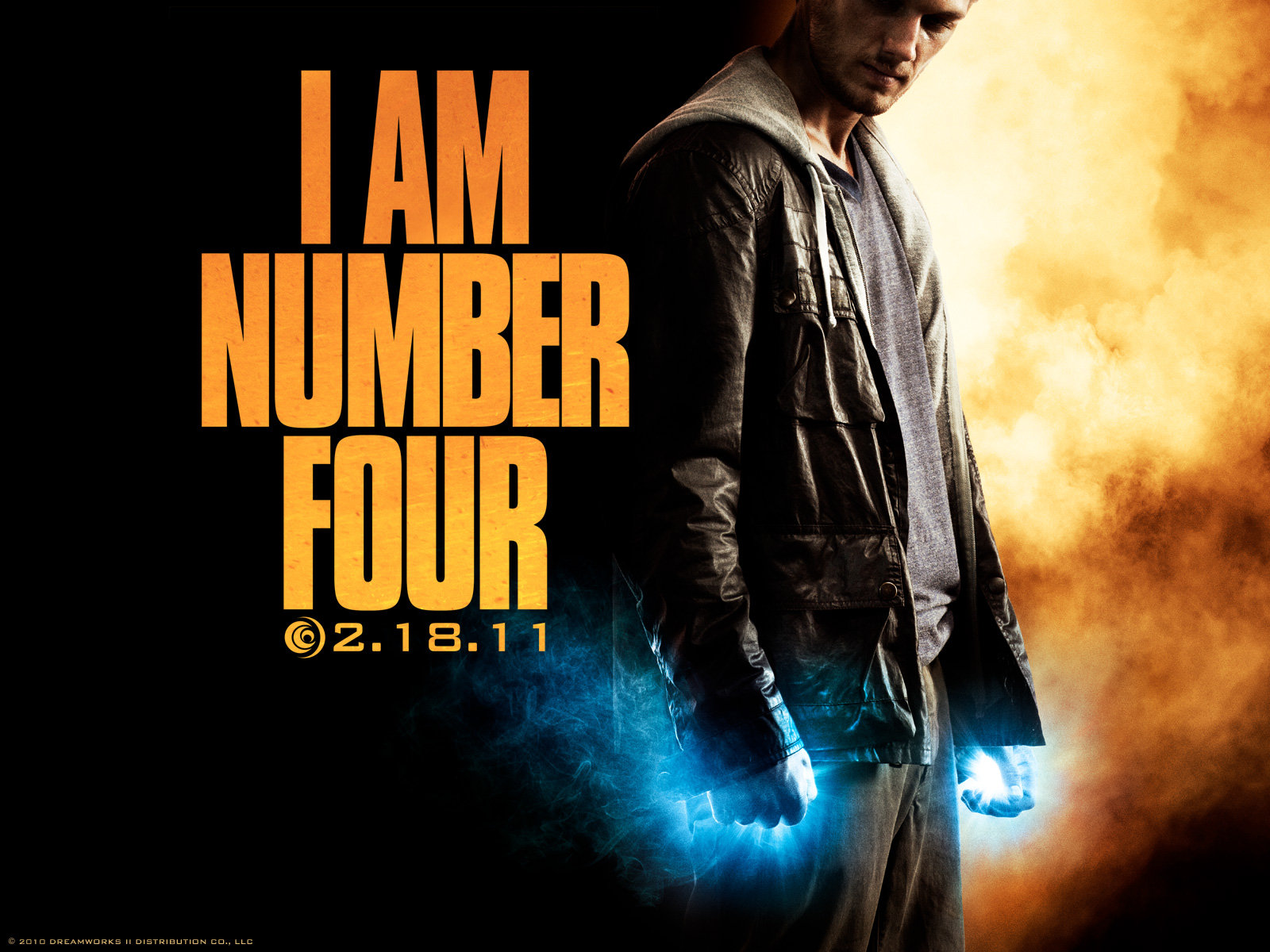 Vagebond's Movie ScreenShots: I Am Number Four (2011) I Am Number Four Movie Poster