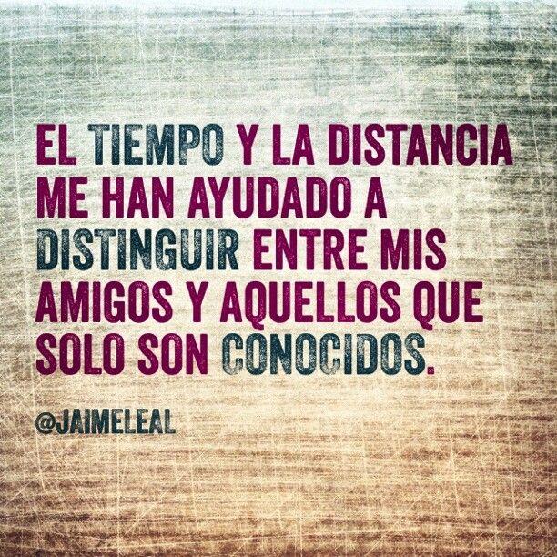 distancia amigos