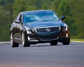 2013 Cadillac ATS black