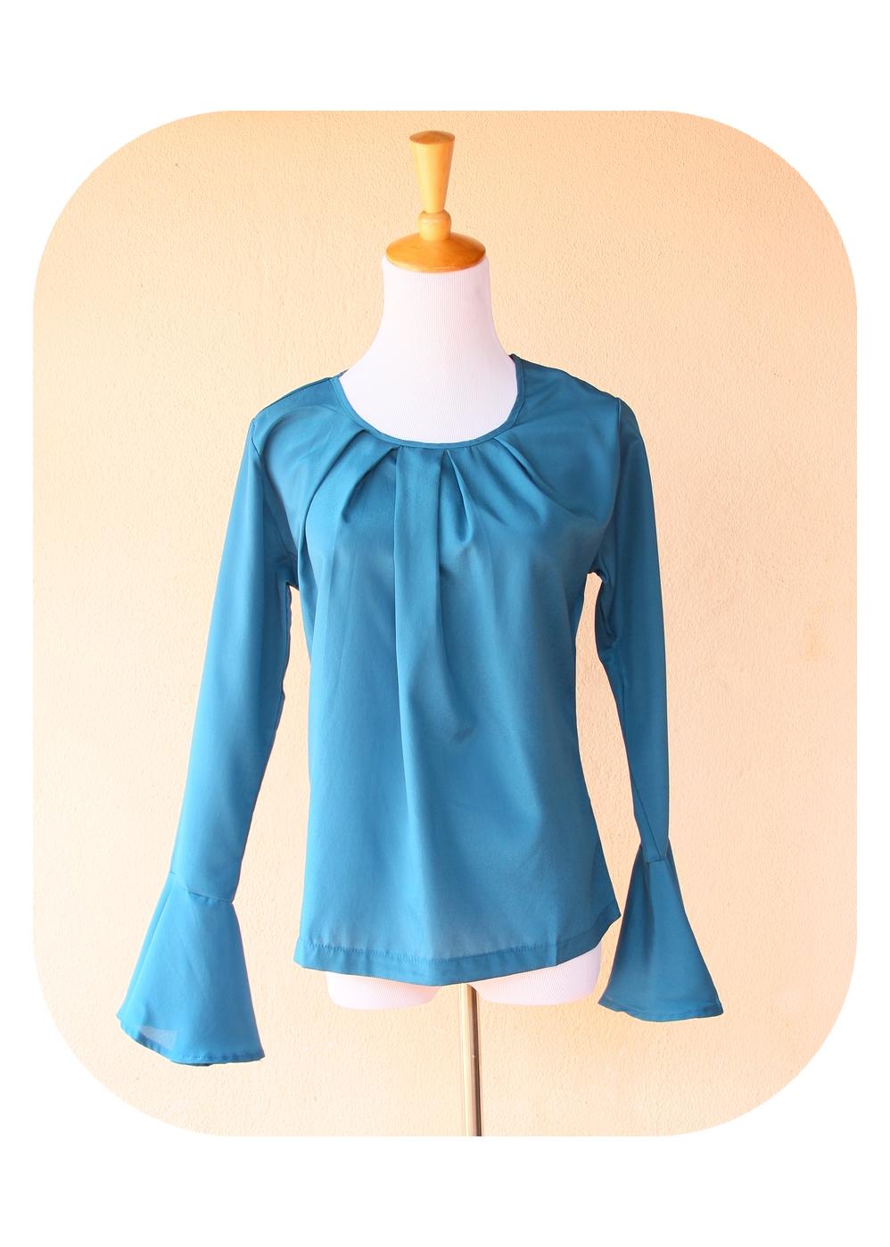 Голуб Блузки С Доставкой