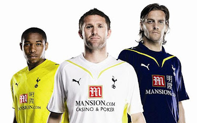 Tottenham Hotspurs Football Kit 2010