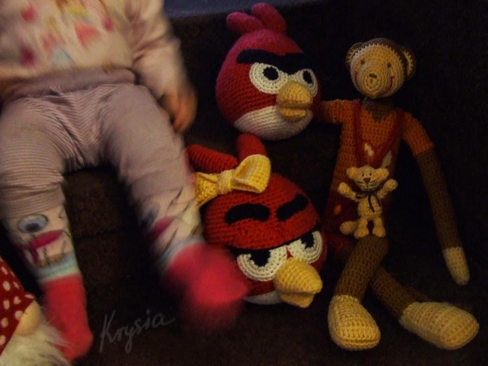 Angry Birds amigurumi crochet