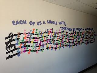 Music with mrs dennis masterpiece bulletin board for Idea door primary 2014