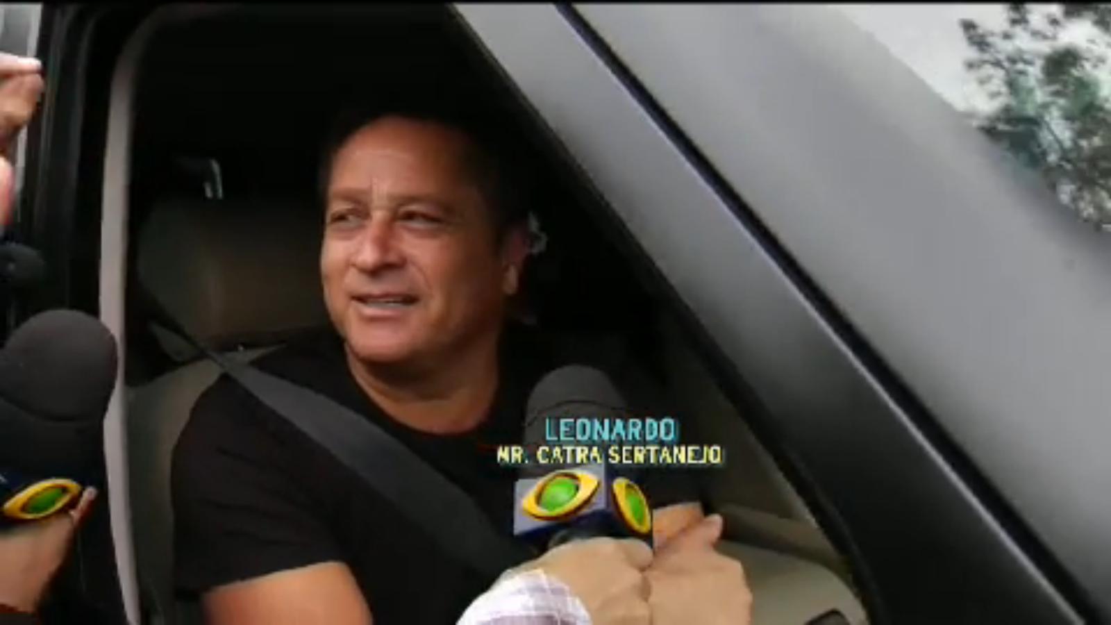 programa Pânico entrevista Leonardo 25 10 2105