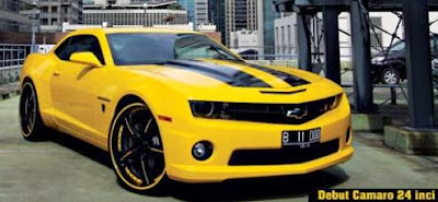Modification Chevrolet Camaro SS 2010