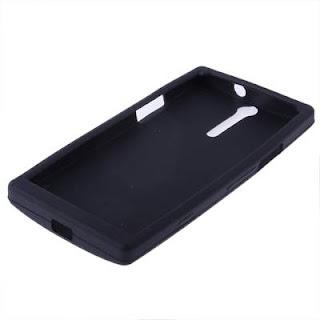 Silicon Case Untuk Sony Xperia S LT26i Sony Ericsson Xperia Arc HD Black