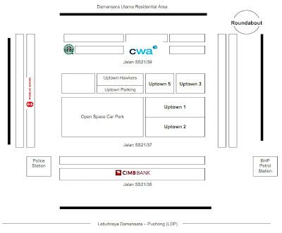 CIMB Wealth Advisor location map