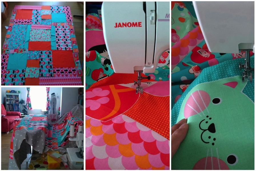 Making a Hello Tokyo Quilt