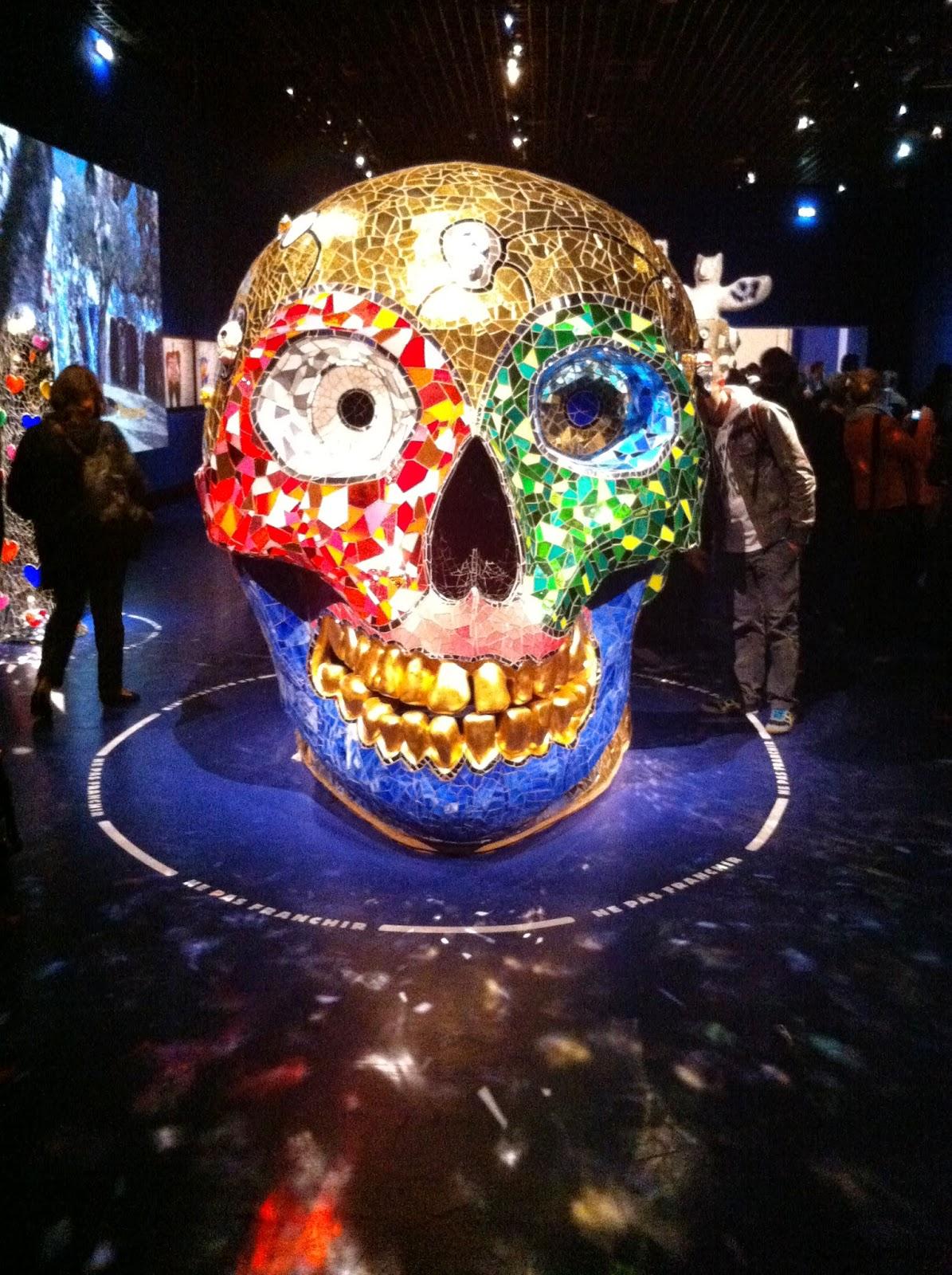 skull Niki saint phalle