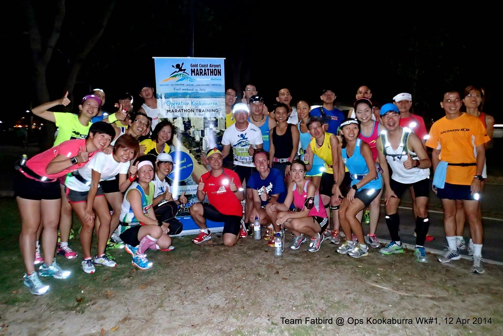 Gold Coast Marathon Training 2014