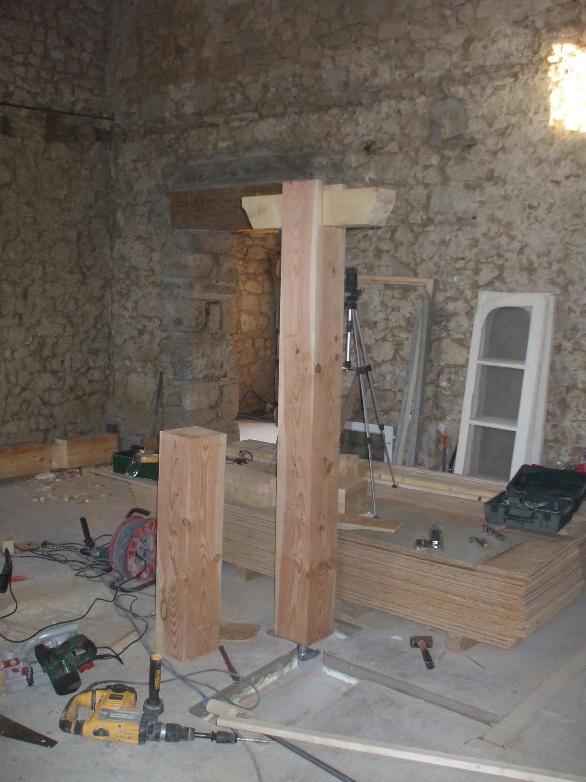 les terrasses de bessou chantier maintenant 22 25 ao t 2013 le retour de la mezzanine. Black Bedroom Furniture Sets. Home Design Ideas