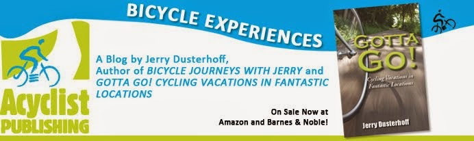 Bicycling Author Shares Experiences