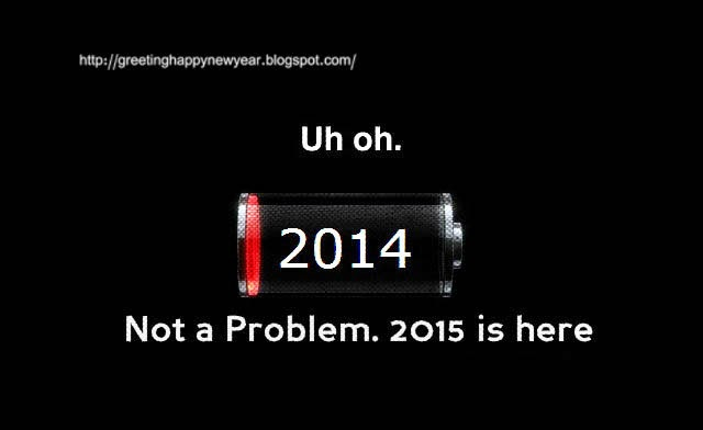 Happy New Year 2015 Bye Bye 2014
