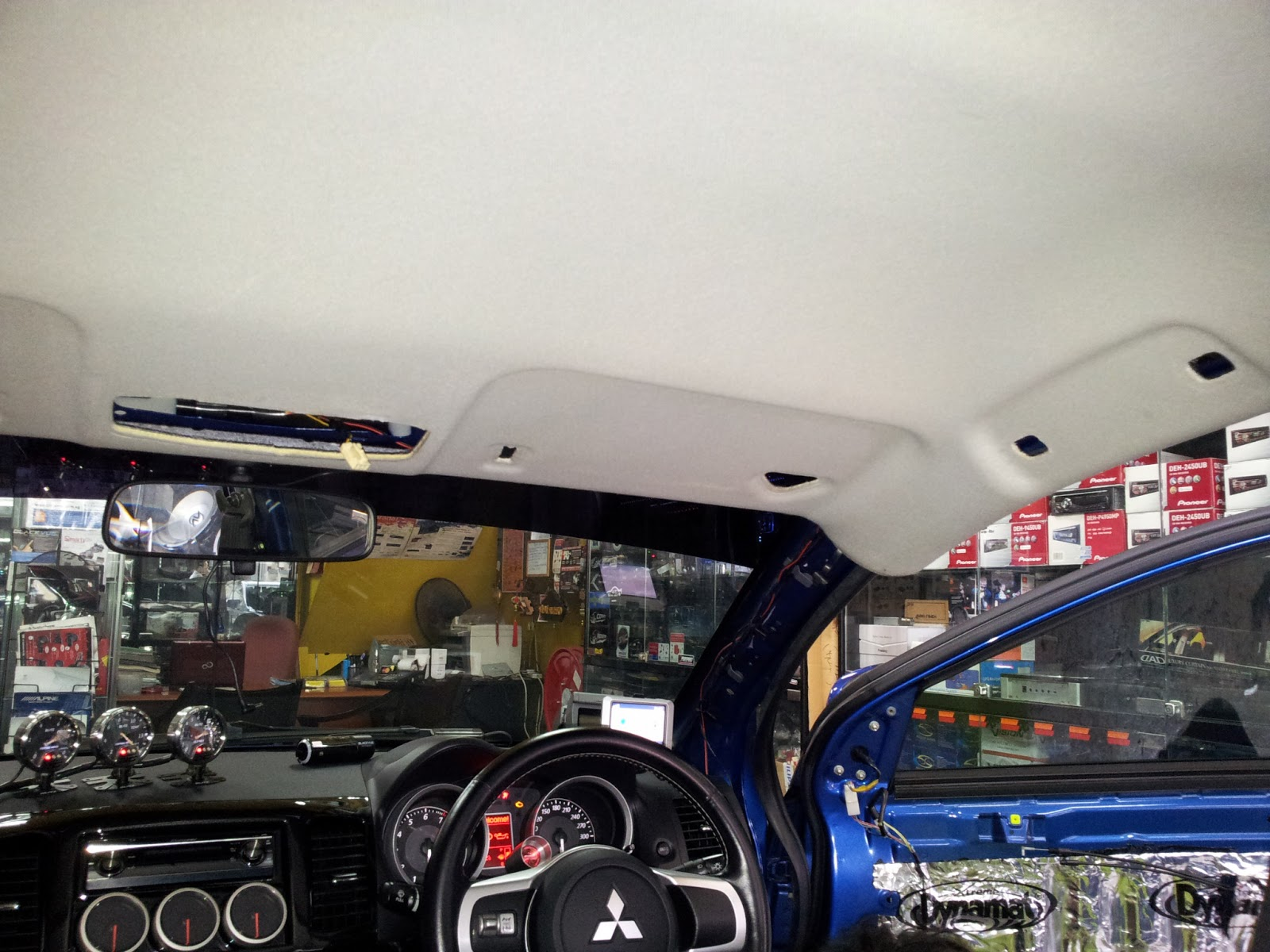 Automotive Upholstery Upgrade Repair Roof Liner