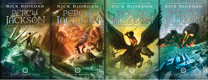 Percy Jackson Fans Unite!: The Battle of the Labyrinth New Cover!
