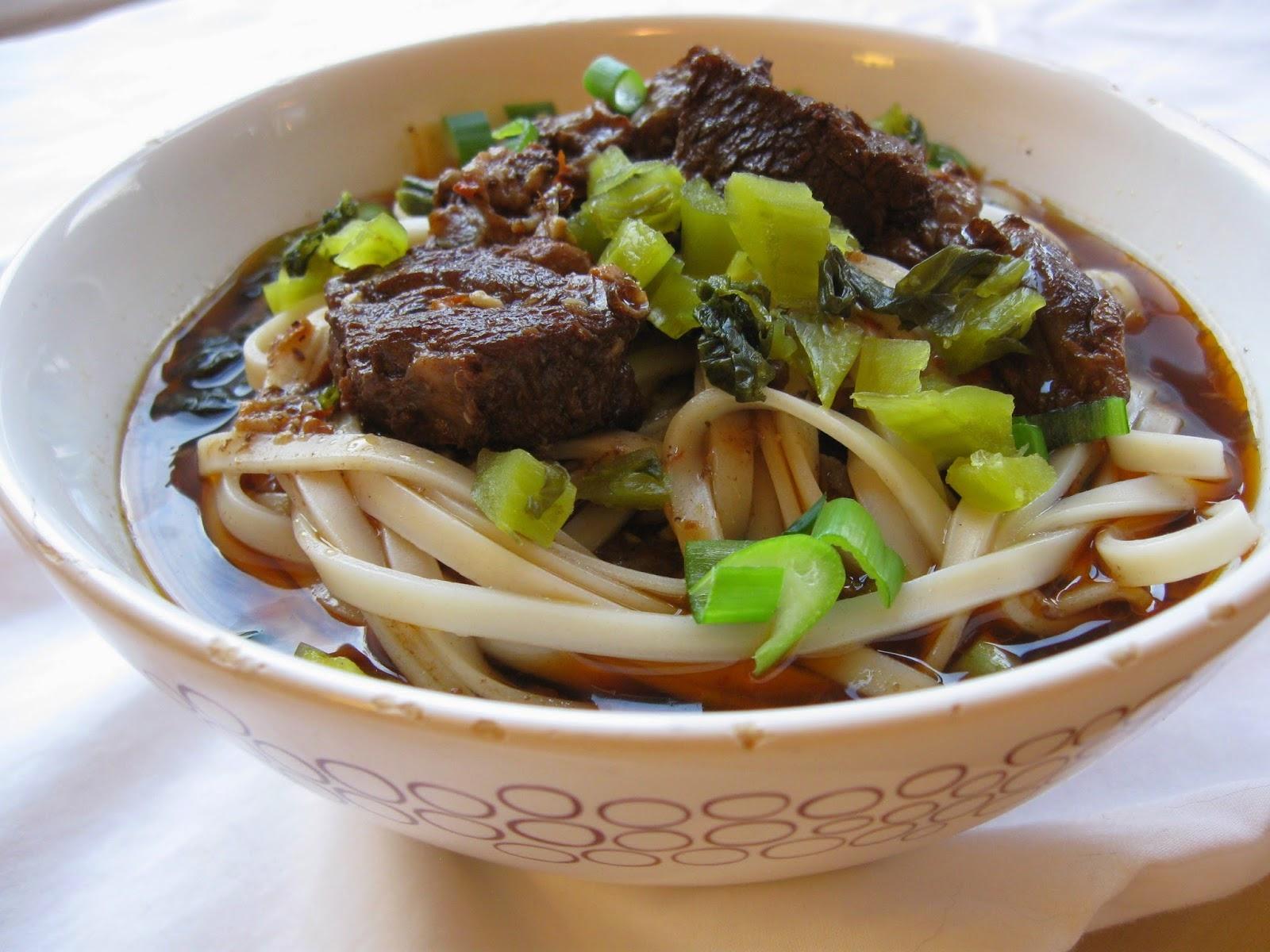 taiwanese beef noodle soup hong shao niu rou mian