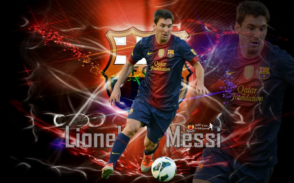 Lionel Messi hd New Nice Wallpapers 2013