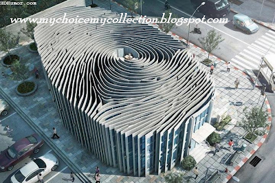 Amazing Fingerprint Building in Thailand