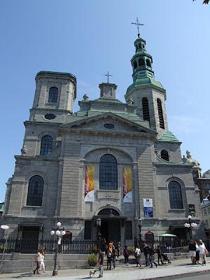 Basilique Notre-Dame à Québec