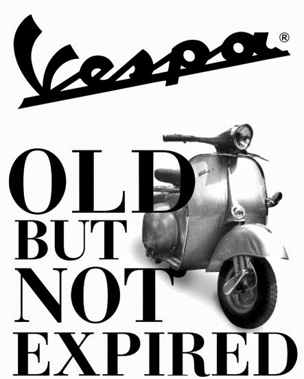 Vespa Old But Not Expired