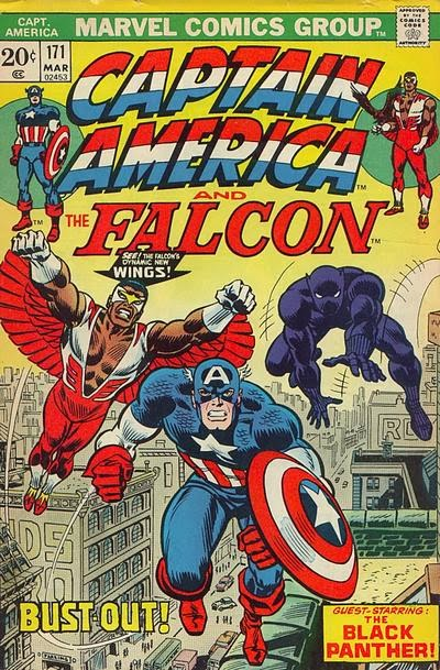 Captain America and the Falcon #171, Black Panther