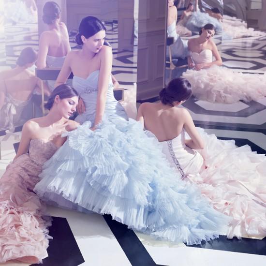Pink Wedding Gowns Kleinfeld: Beautiful Life: Dreamy Pastel Bridal Dresses