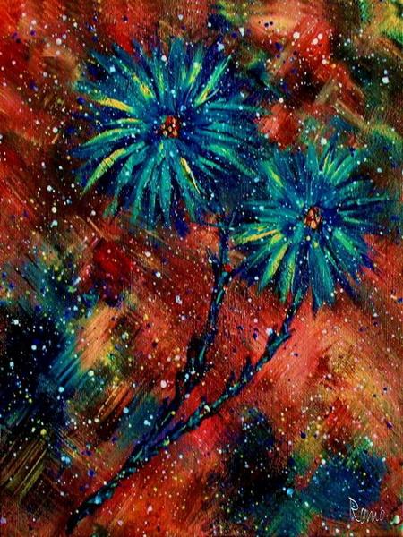астры в живописи