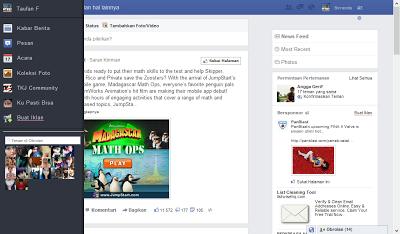 Tampilan Facebook Terbaru