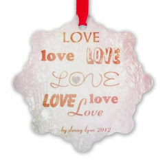 Love X 7 Ornament