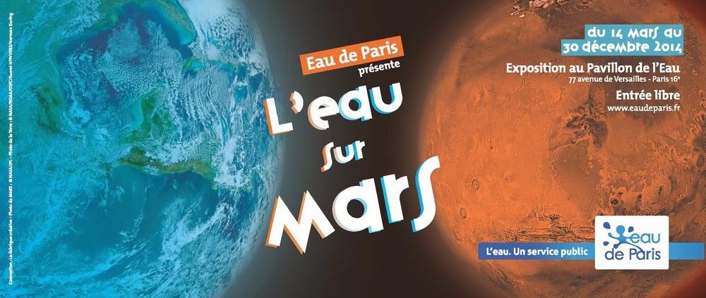 Space relics exposition l 39 eau sur mars paris jusqu 39 au for Expo paris mars