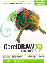CorelDRAW Graphic Suite X3 + Keygen Português