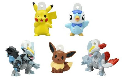 Pokemon Soup Figure BW 6 BW Season2 Set Bandai