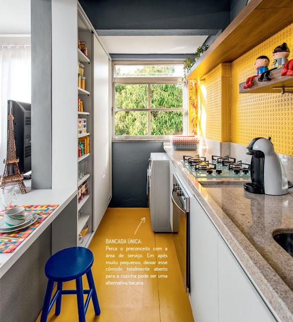 Soluções para cozinhas estreitas, inclusive a minha!