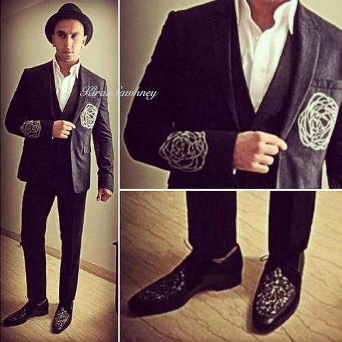 Ranveer Singh in Dior
