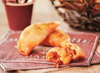 Empanadillas de sobrasada y queso de Mahón
