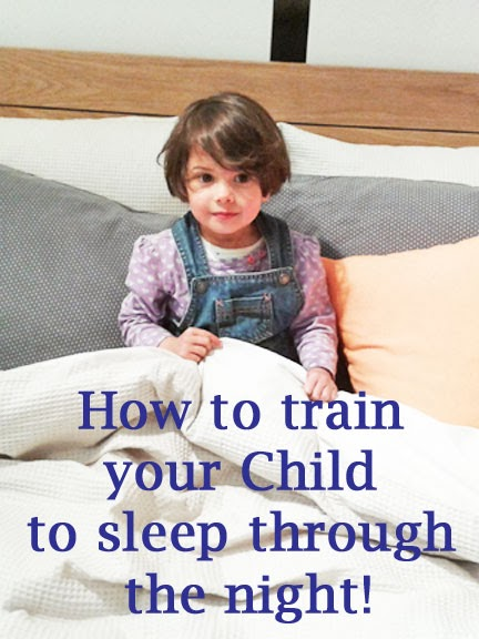 How to train your child to sleep through the night