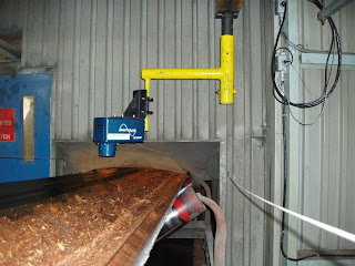 moisture sensing requirements in the wood pellets