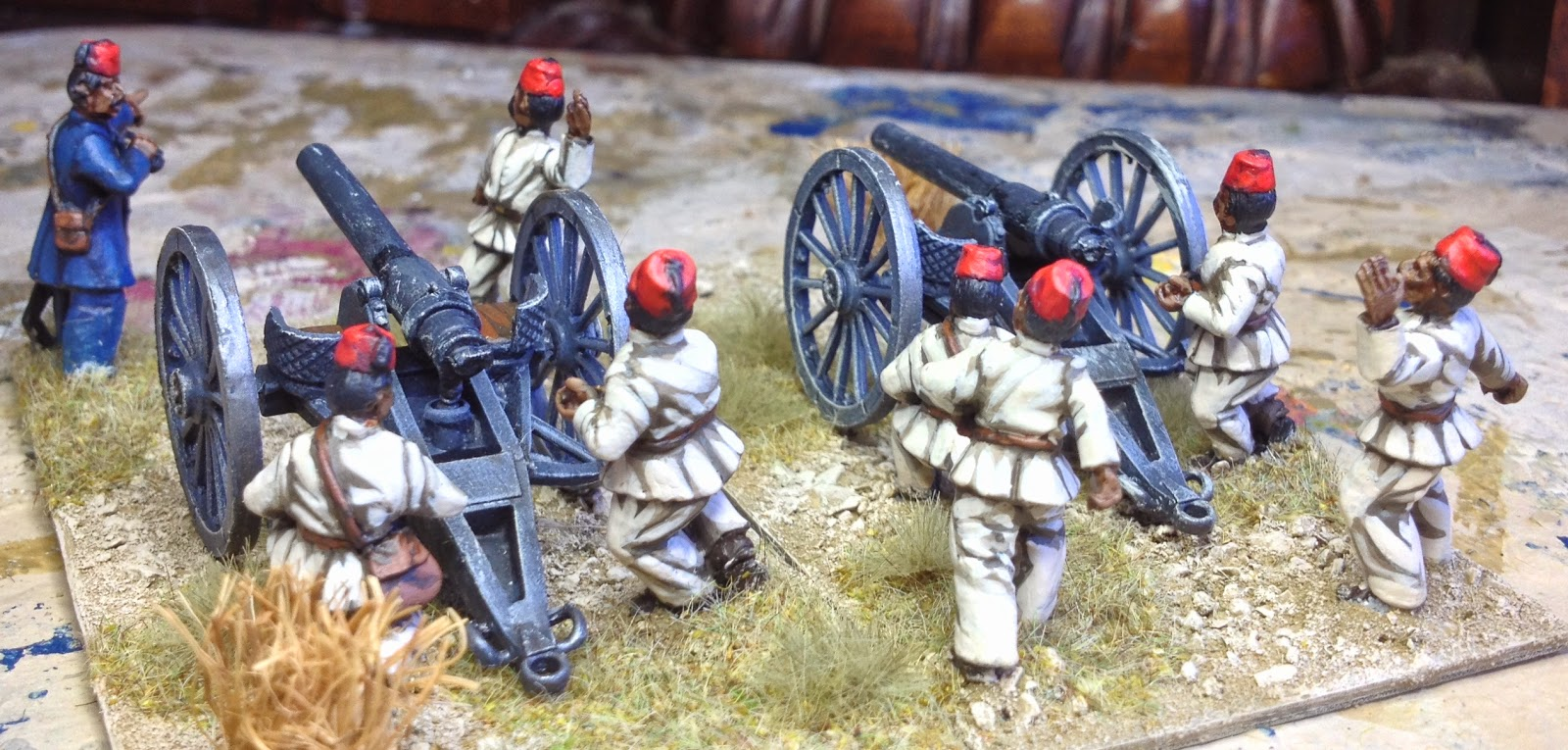 lonely gamers egyptian artillery old glory miniatures. Black Bedroom Furniture Sets. Home Design Ideas