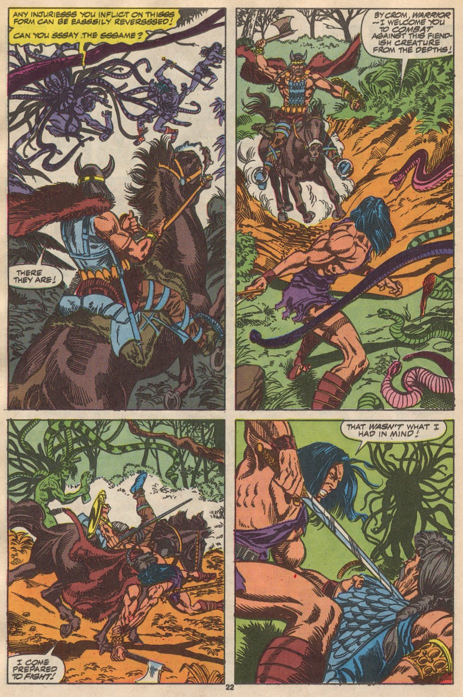 Conan the Barbarian (1970) Issue #237 #249 - English 17