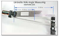 Umbrella Hole Angle Measuring  Device - Manfrotto 026