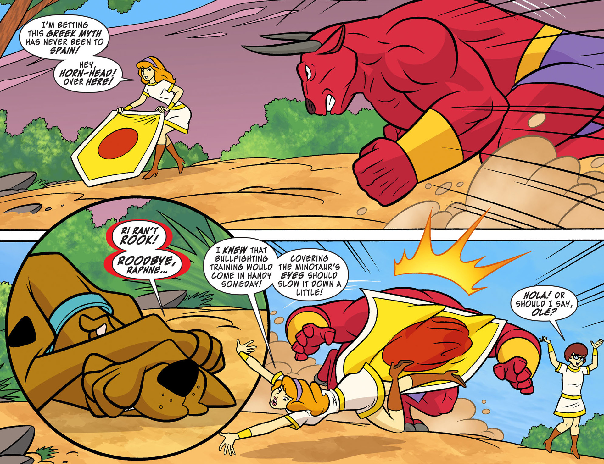 Read online Scooby-Doo! Team-Up comic -  Issue #9 - 13