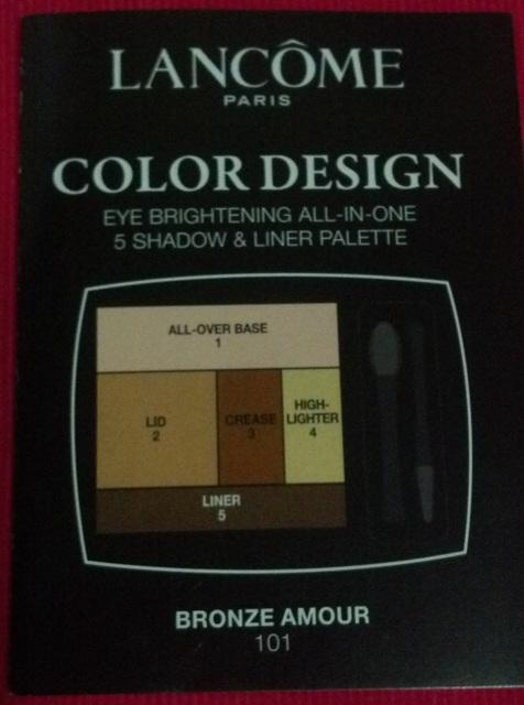 Sei Bella Beauty And Fashion Lancome Color Design Eye