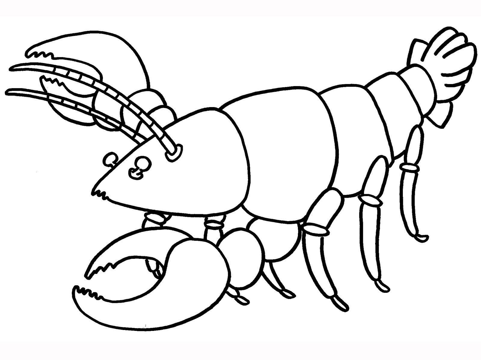 Lobster Colouring Pages