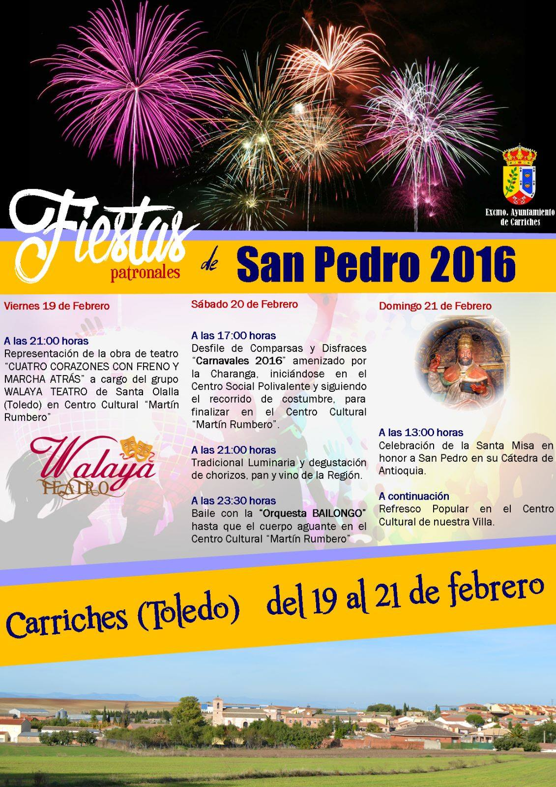 Fiestas de carriches en honor de la c tedra de san pedro for Fiestas jardin antioquia 2016