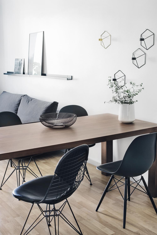 монохром, дизайн, скандинавский стиль в интерьере